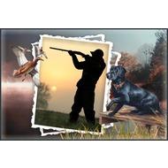 Рамка в целях мужчин - любителю охоты