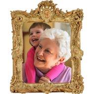 Деревянная, старинная, резная рамка для того снимок онлайн