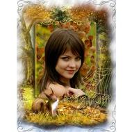 Фоторамка онлайн - Сказочная золотая осень