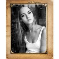 белая рамка для фото онлайн