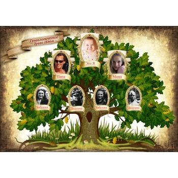 Генеалогическое древо семьи - сделать онлайн